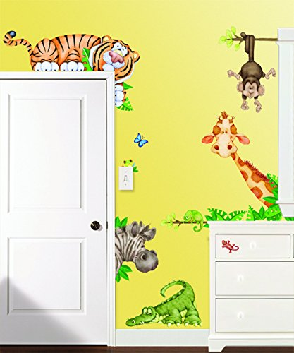 Borders Unlimited in The in The Jungle Super Jumbo Applique