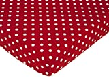 Polka Dot Ladybug Fitted Crib Sheet for Baby and Toddler Bedding Sets by Sweet Jojo Designs - Polka Dot Print Reviews