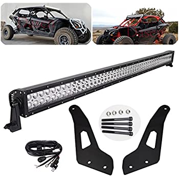 "50/"" Single Row LED Light Bar Wiring Kit fit Can-am Maverick X3 DS RS MAX 51/'/'"