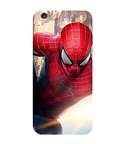 online store e5f44 1a049 Spiderman Printed Back Cover for iPhone 6: Amazon.in: Electronics