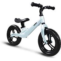"""COEWSKE 12"""" Balance Bike Magnesium Alloy No Pedal Walking Balance Entrenamiento Bicicleta para niños y niños de 2 a 4 años"""