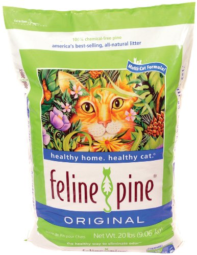 Feline Pine  Original Cat Litter, 40-Pound Bags, My Pet Supplies