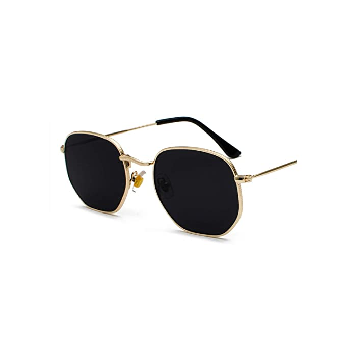 Amazon.com: Gafas de sol para hombre, diseño vintage, color ...