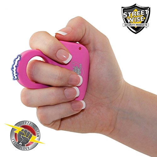 Streetwise-Sting-Ring-18-Million-Volt-Stun-Gun-Police-Magnum-OC-17-Pepper-Spray-Bundle-Perfect-for-Holiday-Giving-Pink