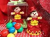 48 Birthday Circus Theme Clown Favor Decoration Cake Topper Party Supplies