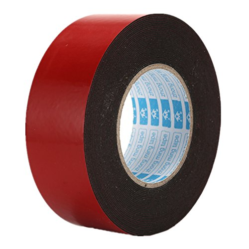 Heavy Duty Mounting Tape,Heat Resistant Double Sided Acrylic Removable 20mm x 10m - 1mm Thickness,1 - Tape Mounting Polyethylene