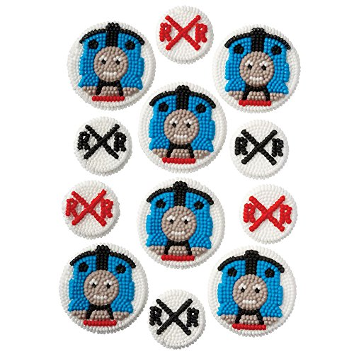 Wilton BB7104242 Thomas the Train Edible Icing Decorations ()
