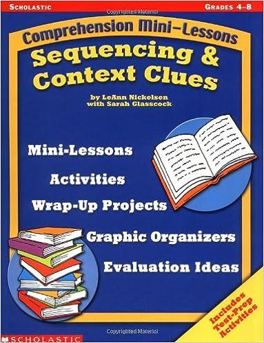 Amazon.com: Sequencing & Context Clues (Comprehension Mini-Lessons ...