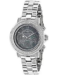 Luxurman Diamond Watches: Plated Gold Watch 2ct