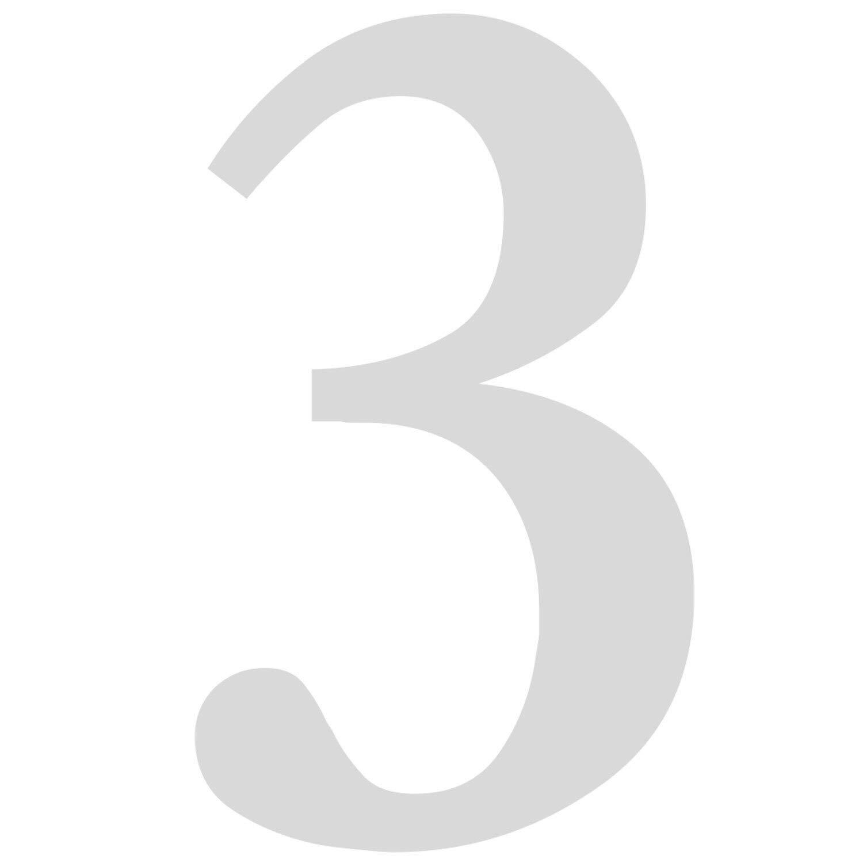 Ziffer zum Aufkleben f/ür Au/ßen 6 in schwarz I H/öhe 10 cm I selbstklebende Haus-Nummer T/ür I wetterfest I kfz/_471/_6 Zahlen-Aufkleber Nr Briefkasten