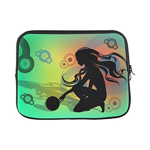 Design Custom Rhythm Rhythmical Gymnastics Floor Exercises Girl Sleeve Soft Laptop Case Bag Pouch Skin For Macbook Air 11