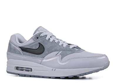 newest 587b7 c62c8 Nike Men s s Air Max 1 Low-Top Sneakers Multicolour (Wolf Black Cool Grey