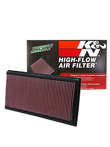K&N 33-2857 High Performance Replacement Air Filter (Drop In Rv Range)