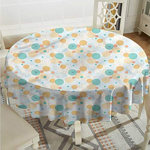 Tim1Beve Geometric Fashions Table Cloth Checkered Style Ovals Modern Minimalist D36 ()