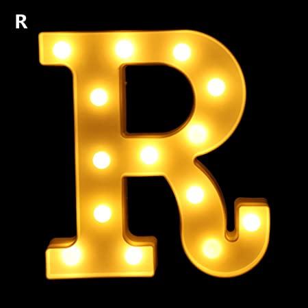 LED Marquee Letter Light Alphabet Light Up Sign 3D Indoor Outdoor Decor /&