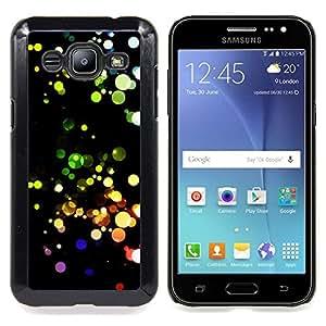 """Qstar Arte & diseño plástico duro Fundas Cover Cubre Hard Case Cover para Samsung Galaxy J2 / J200 (Modelo colorido"""")"""