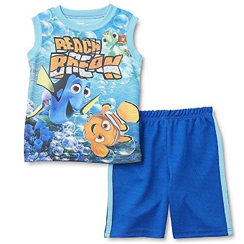 (Boys Disney Finding Dory Tank Top & Short Set Size)