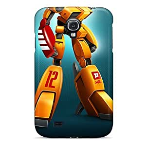 Hard Plastic Galaxy S4 Case Back Cover,hot Robot Toys Case At Perfect Diy