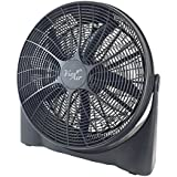 20 High-Velocity 5 Blade Tilting Ultra Lightweight Turbo Floor Fan - It Allows For Maximum Air Flow, Optimal Circulation And Quiet Operation