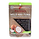 Itsumo Wild Ahi Tuna Fish in Extra Virgin Coconut Oil (1 Pack) – Premium Grade Yellowfin Tuna Fish Flake in Oil – Healthy & All Natural Ingredients – Paleo & Gluten Free Protein Snack For Sale