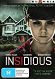 Insidious | James Wan's | NON-USA Format | PAL | Region 4 Import - Australia