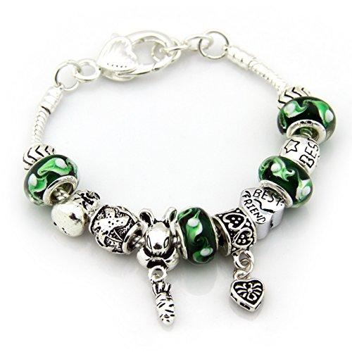 MiAnMiAn European Macroporous Silver plated Bracelet