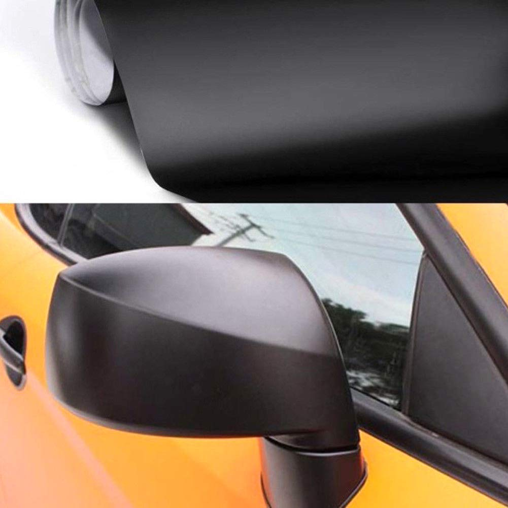 lymty 3D Film Autocollant Adh/ésif Vinyle en Fibre de Carbone de 1.52m x 0.3m pour Voiture,Ordinateur,Coque de Smartphone,Moto,Noir