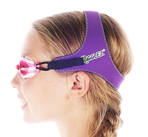 NEW - PAINLESS Swimming Goggles for Kids/Youth - (Purple) Purple Kids Goggles