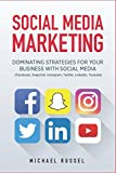 img - for Social Media Marketing: Dominating Strategies for your Business with Social Media (Edition July 2017, Facebook, Snapchat, Instagram, Twitter, LinkedIn, YouTube) book / textbook / text book