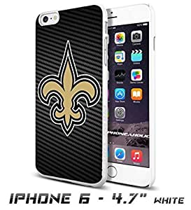 American Football NFL NEW ORLEANS SAINTS Logo, Cool iPhone 6 - 4.7 Inch Smartphone Case Cover Collector iphone TPU Rubber Case White [By PhoneAholic] by ruishername