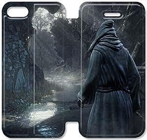 Elegant Printing Dark Souls-13 iPhone 5C Leather Flip Case