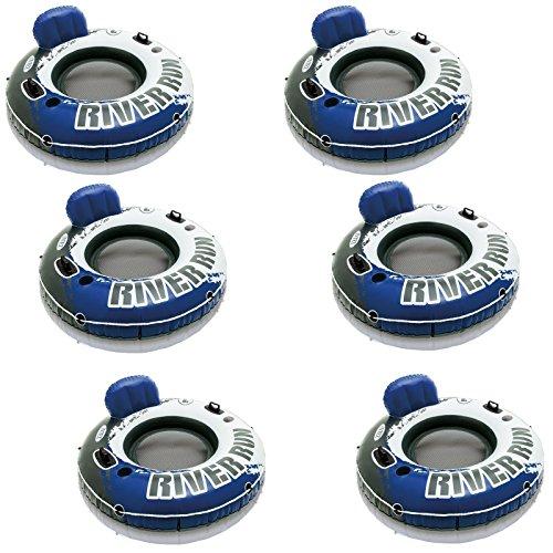UPC 732169877666, Intex River Run I Inflatable Water Floating Lake Pool Pond River Tubes 6 Pack