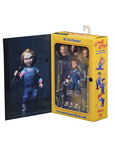 NECA - Chucky 4 inch Scale Action Figure - Ultimate - Scale Figures Baseball