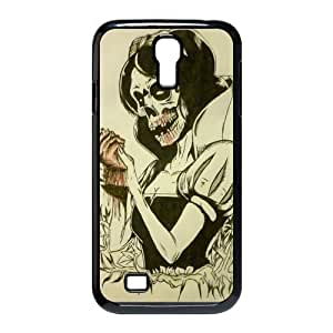 Galaxy S4 Case,New Fashion Zombie Princess Design Plastic Skin Wallet Case Cover for Samsung Galaxy S4,Samsung S4 Case