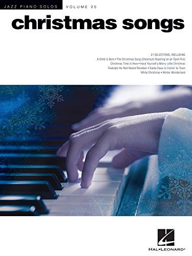 Christmas Songs: Jazz Piano Solos Series: 25