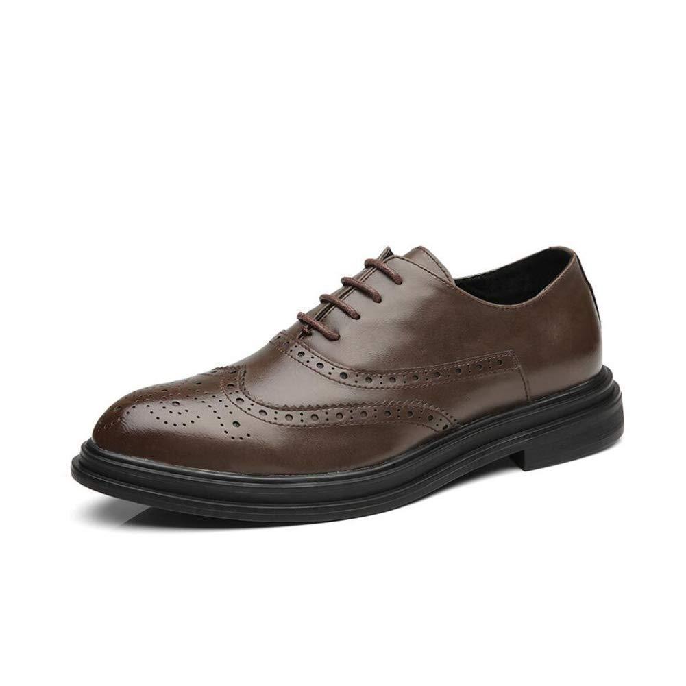 Chaussures pour hommes, chaussures de printemps, chaussures pour hommes formelles pour hommes, chaussures à la mode, souliers de mariage, marron, 42 ( coloré : Comme montré , Taille : Taille unique )