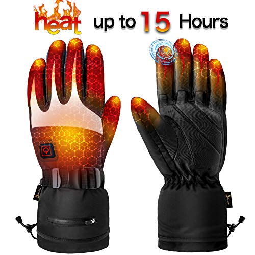 Heated Gloves for Men Women