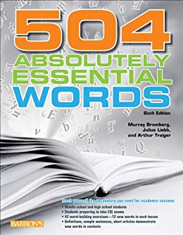 504 absolutely essential words ebook murray bromberg julius liebb 504 absolutely essential words por bromberg murray julius liebb fandeluxe Choice Image