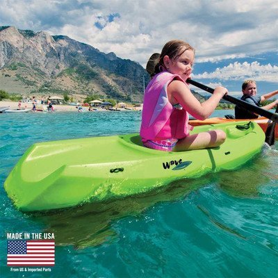 Youth Wave Kayak (With Paddle) Color: Lime Green by Lifetime