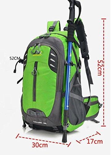 HCLHWYDHCLHWYD-escalada libre del bolso de hombro del bolso de los hombres y las mujeres viajan mochila de senderismo bolsa de gran capacidad , 6 1