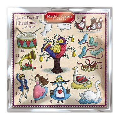Medici Charity Christmas Cards - Cosy Christmas /(5330/) - Pack of 8 ...
