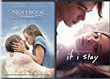 The Notebook + If I Stay Love Romance Movies DVD Collection