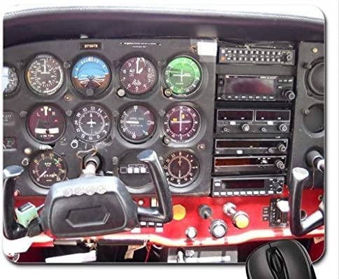 Amazon com : Cessna 172 Instrument Panel Mouse Pad, Mousepad