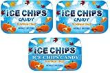 ICE CHIPS Xylitol Candy Tins (Pumpkin Spice, 3 Pack) - Includes BAND as shown