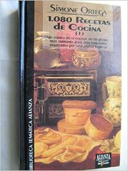 1080 RECETAS DE COCINA 1 y 2 1.080 RECETAS DE COCINA: Amazon ...