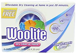 Woolite Dry Cleaner\'s Secret Fragrance Free Woolite Dry Cleaner\'s Secret (18-Count)