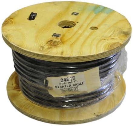 2 Ga. Black Welding Cable 10 FEET
