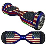 Anboo New Style 2 Wheels Protective Vinyl Skin Decal For 6.5IN model Self Balancing Scooter Hoverboard (D)