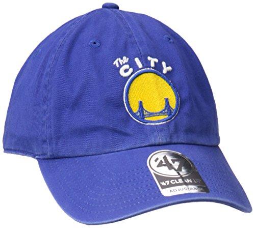 NBA Golden State Warriors '47 Clean Up Adjustable Hat, Royal