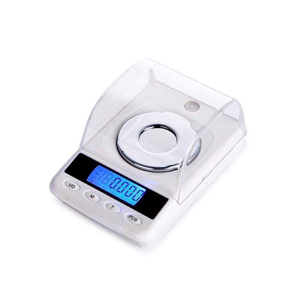CDZJP Deluxe Edition Digital Scales 0.001G/50G, Pocket Scales with LCD Display, Electronic High Precision Scales, Mini Portable Smart Jewelry Milligram Scales